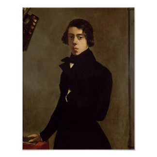 Self Portrait, 1835 Poster