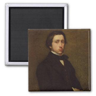 Self portrait, 1855 2 inch square magnet