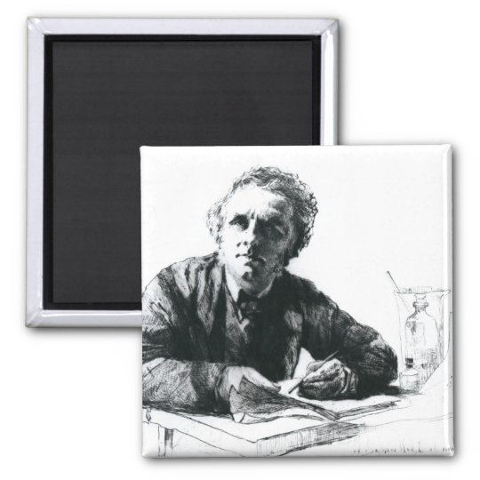 Self Portrait, 1862 Magnet
