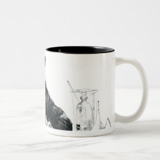 Self Portrait, 1862 Two-Tone Coffee Mug