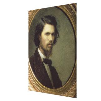 Self Portrait, 1867 Canvas Print