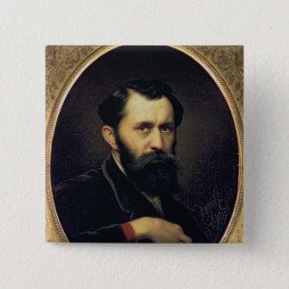 Self Portrait, 1870 Pinback Button