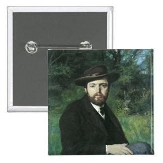 Self Portrait, 1871 Pinback Button