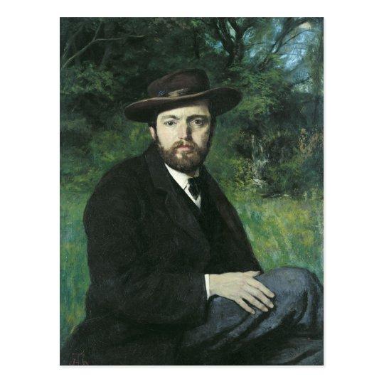 Self Portrait, 1871 Postcard