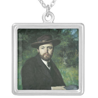 Self Portrait, 1871 Silver Plated Necklace