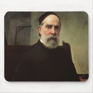 Self Portrait, 1878 (oil on canvas) Mouse Pad