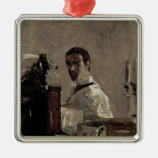 Self Portrait, 1880 Metal Ornament