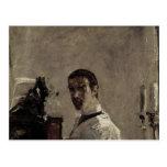 Self Portrait, 1880 Postcard