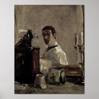 Self Portrait, 1880 Poster