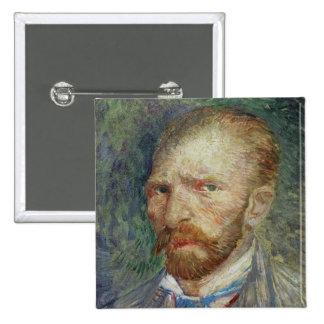 Self Portrait, 1887 2 Inch Square Button