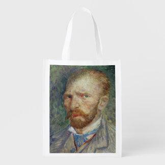 Self Portrait, 1887 Grocery Bag