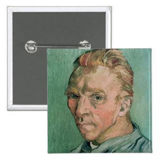 Self Portrait, 1889 Pinback Button