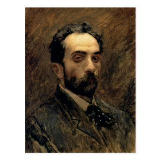 Self Portrait, 1890s Postcard