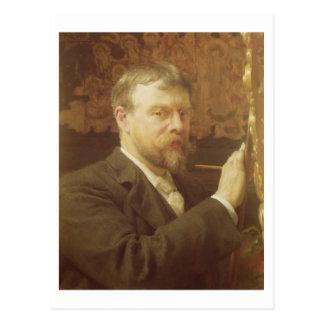 Self Portrait, 1897 (oil on canvas) Postcard