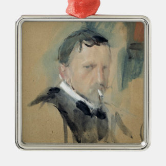 Self Portrait, 1901 Metal Ornament