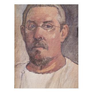 Self portrait, 1902-3 postcard