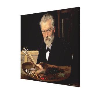 Self portrait, 1905 canvas print