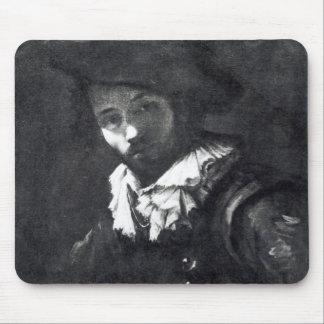 Self-portrait 2 mouse pad