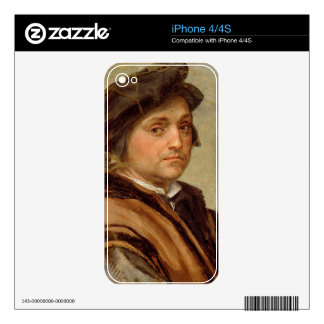 Self Portrait 2 Decal For iPhone 4