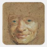 Self Portrait 2 Square Sticker