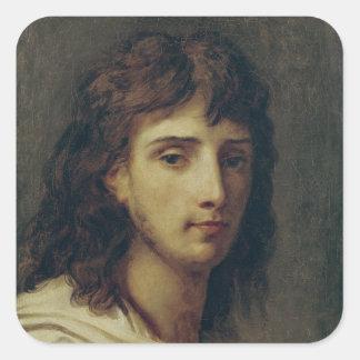 Self Portrait 3 Square Sticker