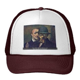 Self-Portrait And Portrait Marées (Double Portrait Trucker Hat