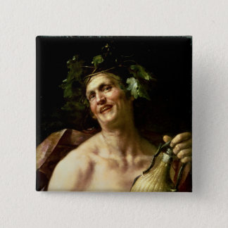 Self Portrait as Bacchus Button