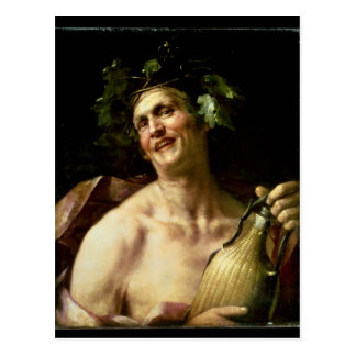 Self Portrait as Bacchus Postcard