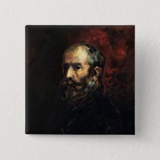 Self Portrait as Henri IV, 1870 Pinback Button