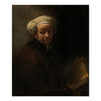 Self Portrait as the Apostle Paul by Rembrandt Poster