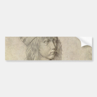 Self Portrait at Age 13 by Albrecht Durer Bumper Sticker