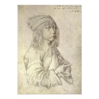 Self Portrait at Age 13 by Albrecht Durer Card