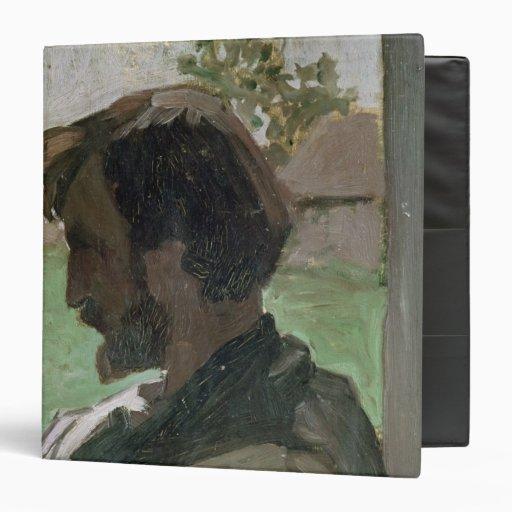 Self Portrait at Saint-Saveur, 1868 Binders