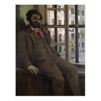 Self Portrait at Sainte-Pelagie, 1871 Postcard
