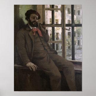 Self Portrait at Sainte-Pelagie, 1871 Poster