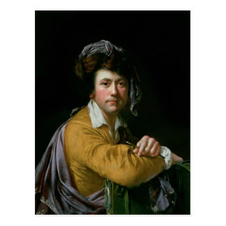 Self Portrait at the age of about Forty, c.1772-3 Postcard