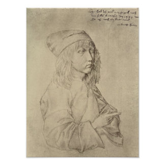 Self portrait at the age of thirteen, 1484 poster