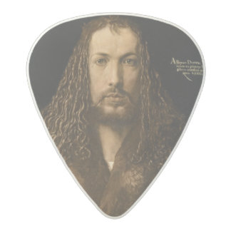 Self Portrait at the Age of Twenty-Eight, 1500 Acetal Guitar Pick