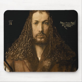 Self Portrait at the Age of Twenty-Eight, 1500 Mouse Pad