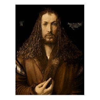 Self Portrait at the Age of Twenty-Eight, 1500 Postcard