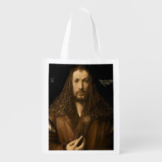 Self Portrait at the Age of Twenty-Eight, 1500 Reusable Grocery Bags