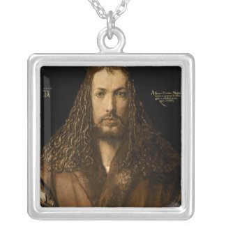 Self Portrait at the Age of Twenty-Eight, 1500 Silver Plated Necklace