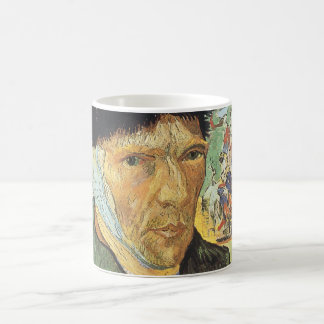 Self Portrait, Bandaged Ear by Vincent van Gogh Coffee Mug