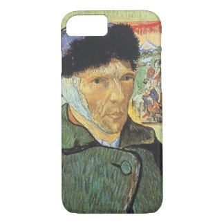 Self Portrait, Bandaged Ear by Vincent van Gogh iPhone 7 Case