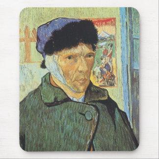 Self Portrait, Bandaged Ear by Vincent van Gogh Mouse Pad