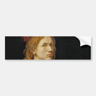 Self Portrait by Albrecht Durer 1493 Bumper Sticker