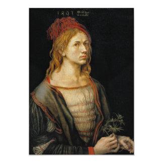 Self Portrait by Albrecht Durer 1493 Card