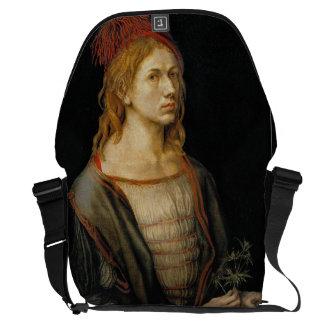 Self Portrait by Albrecht Durer 1493 Courier Bags