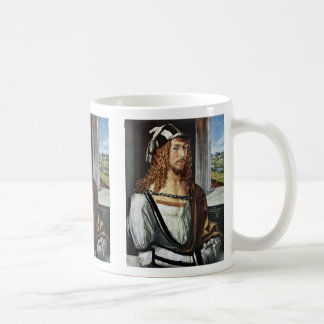 Self-Portrait,  By Albrecht Dürer Coffee Mug