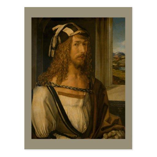 Self-portrait by Albrecht Durer Post Card
